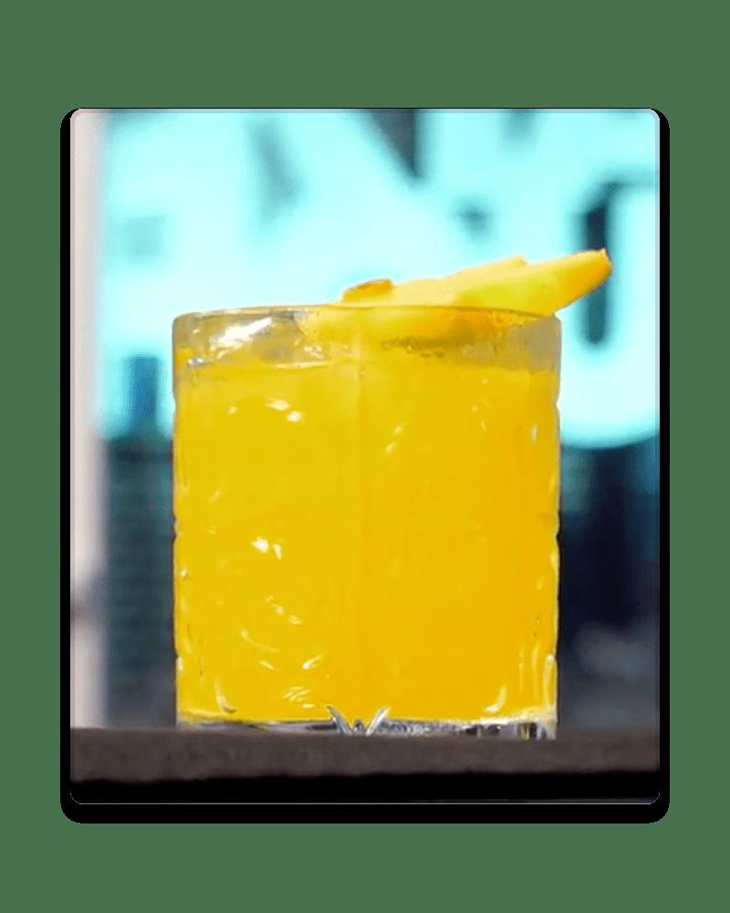 cocktail tutorial mango sour vanzan
